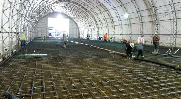 Indoor Commercial Concrete Flooring Edmonton
