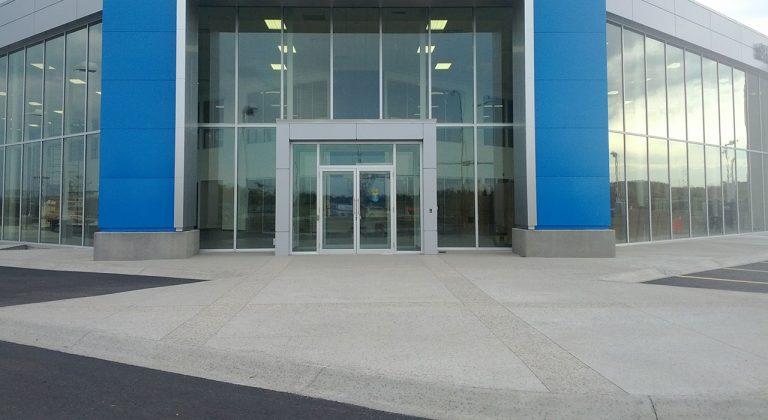 Complete Commercial Concrete Job Edmonton