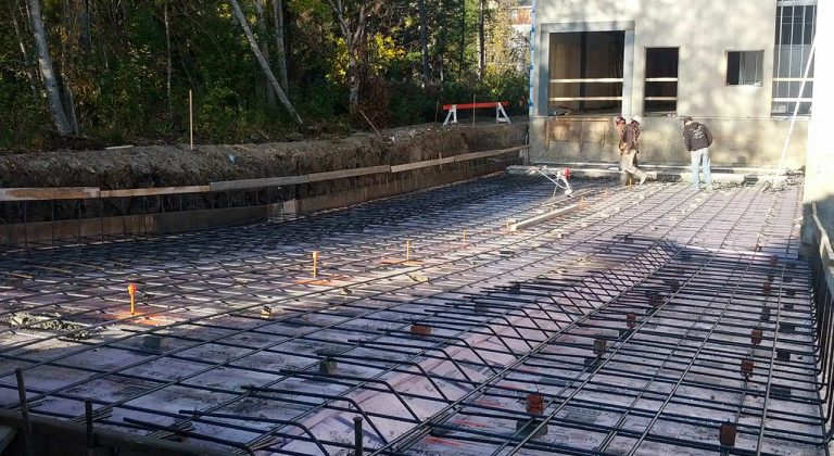 Concrete loading dock construction edmonton