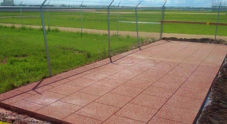 Finished Concrete Walkway Edmonton