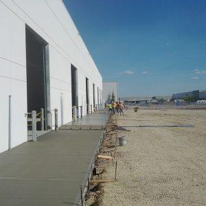 Commercial Concrete sidewalk edmonton