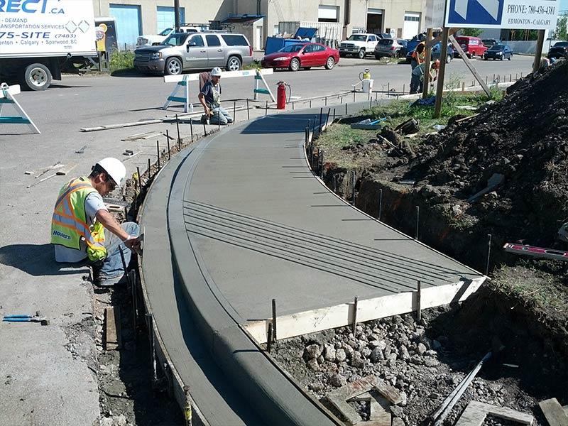 How to Finish Concrete in Edmonton
