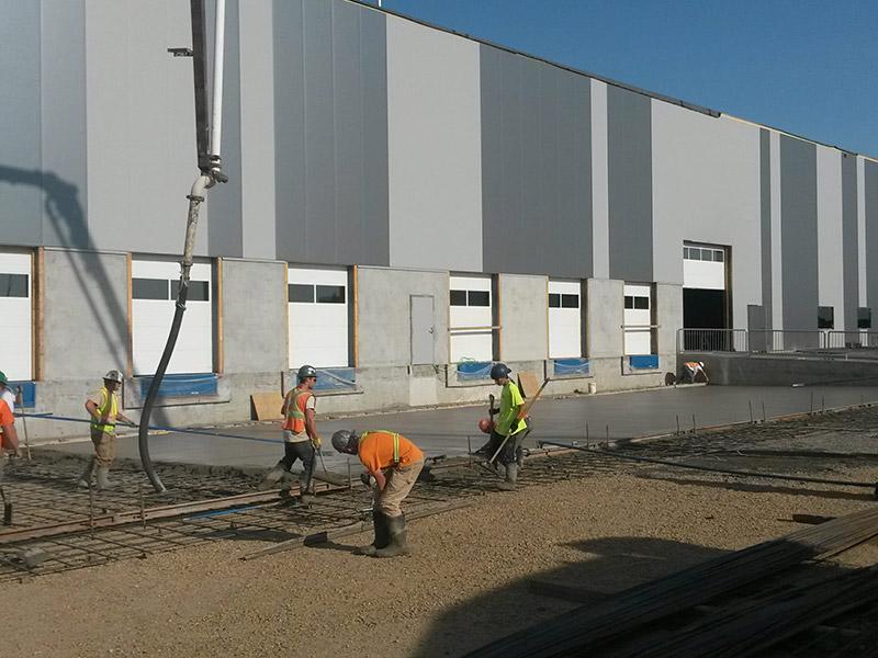 concrete form work in edmonton